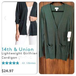 NWT 14th & Union Cardigan